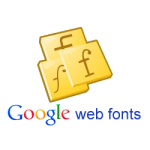 google web fonts logo